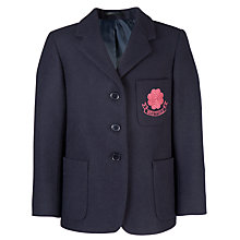 Buy Westfield School Junior Girl's Blazer, Navy Online at johnlewis.com
