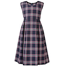 Buy Westfield School Junior (Key Stage 1) Girl's Tunic, Navy/Pink Online at johnlewis.com