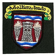 Buy Hazlehead Academy School Blazer Badge, Black Multi Online at johnlewis.com