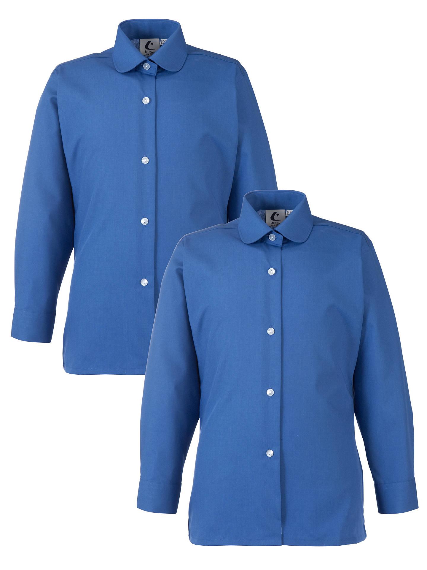 eec7a140770 BuyGirls  School Long Sleeve Collar Blouse
