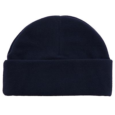 School Fleece Hat, Navy