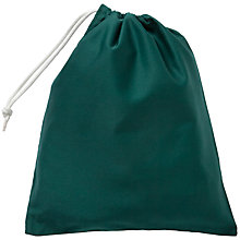 Buy School Drawstring Shoe Bag, Bottle Green Online at johnlewis.com