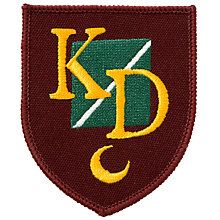 Buy K.D. Grammar School For Boys Blazer Badge, Multi Online at johnlewis.com