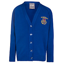 Buy St Peters RC Primary School Girl's Cardigan, Royal Blue Online at johnlewis.com