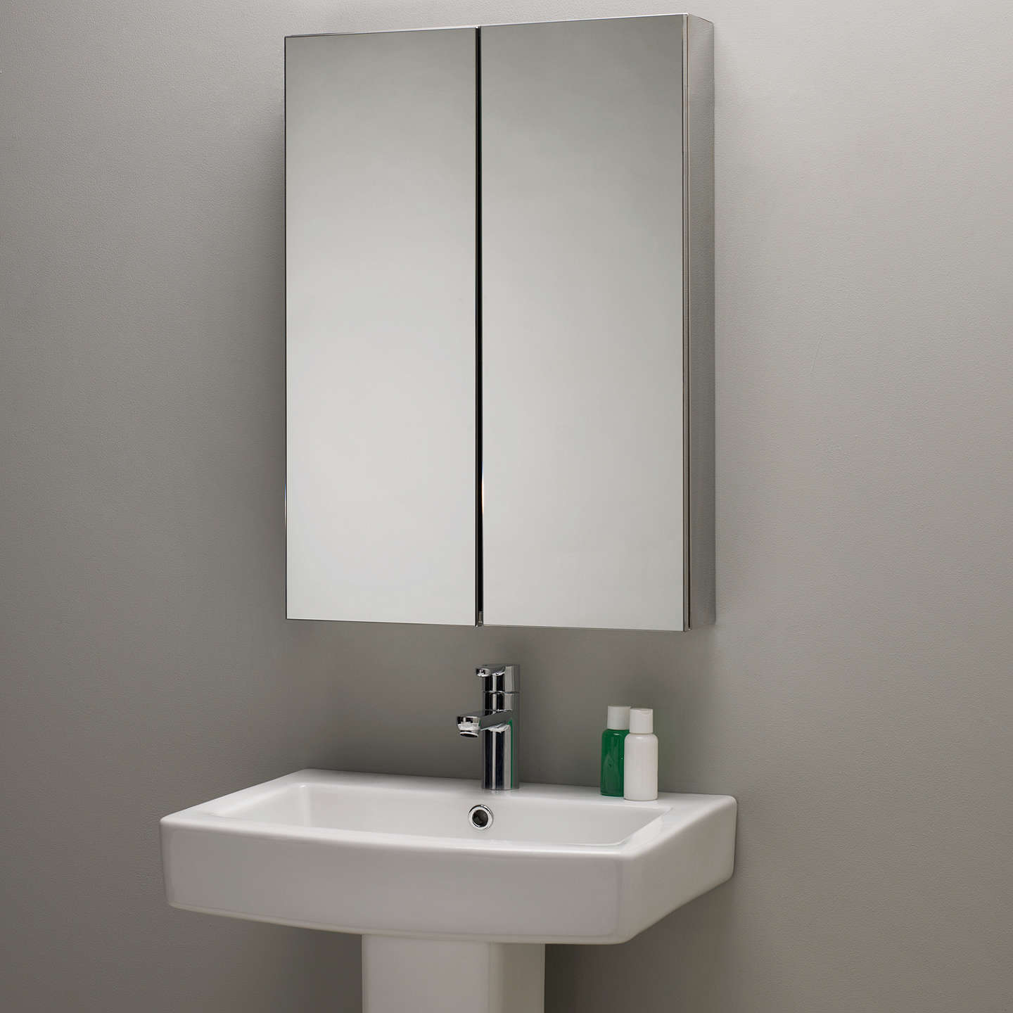 Roper Rhodes Shine Double Mirrored Bathroom Cabinet At John Lewis