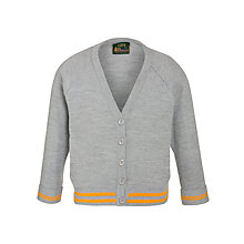 Buy Cheadle Catholic Infant & Junior School Girls' Cardigan, Grey Online at johnlewis.com