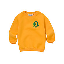 Buy Fernielea Nursery Unisex Sweatshirt, Yellow Online at johnlewis.com