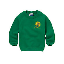 Buy Greenbrae Primary School Unisex Nursery Sweatshirt, Emerald Green Online at johnlewis.com
