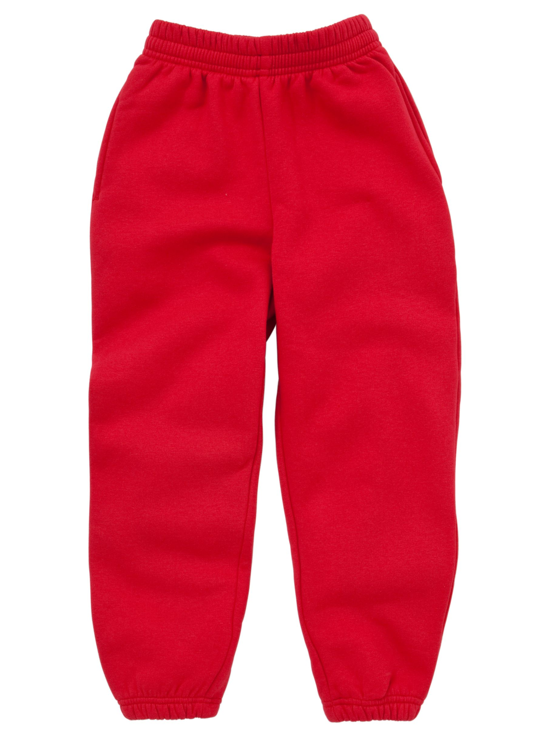 School Unisex Tracksuit Bottoms, Red at John Lewis & Partners School Unisex Tracksuit Bottoms, Red - 웹