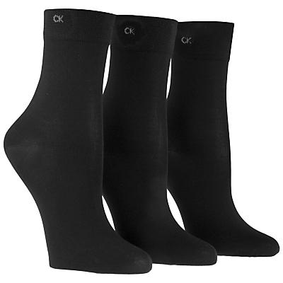 Product photo of Calvin klein light sparkle short crew socks pack of 3