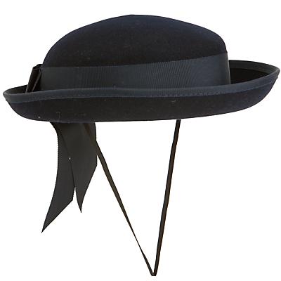 School Girls' Felt Hat, Navy