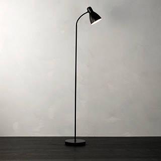 Floor lamps furniture lights john lewis john lewis the basics brandon floor lamp black aloadofball Images