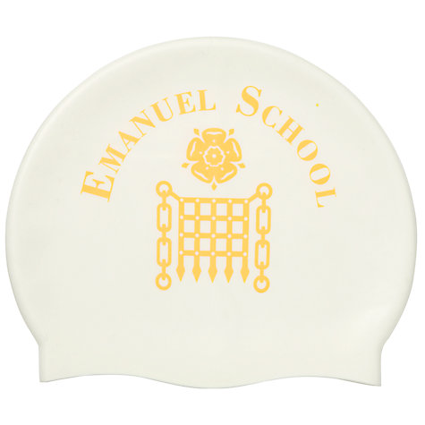 Buy Emanuel School Girls' Swim Cap Online at johnlewis.com