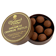 Buy Charbonnel et Walker Dark Marc De Champagne Truffles, 135g Online at johnlewis.com
