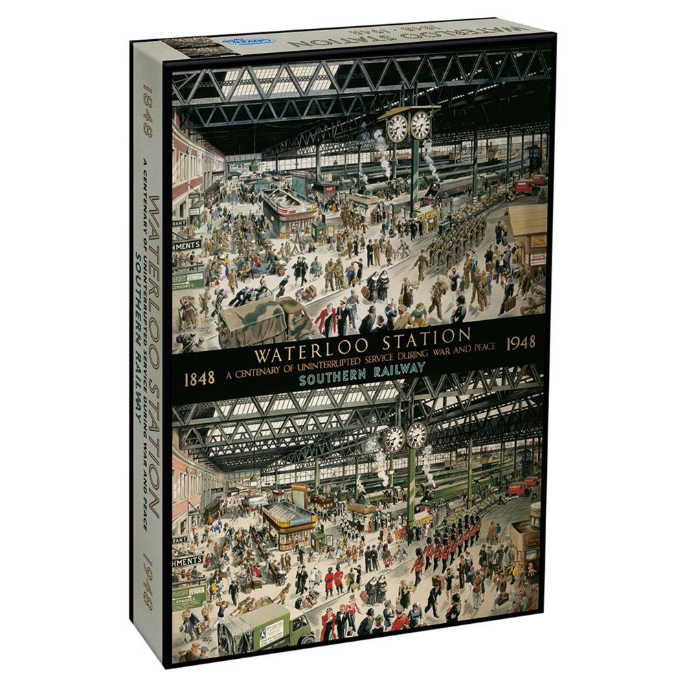 Gibsons Gibsons Waterloo Station Jigsaw Puzzle, 1000 Pieces