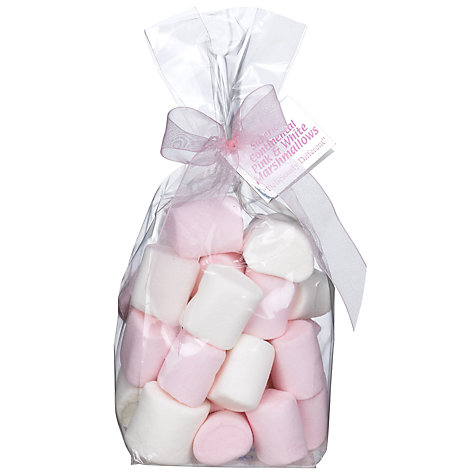 Buy Ambassadors of London Pink and White Marshmallows, 160g Online at johnlewis.com