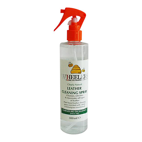 Buy Wheelers Leather Spray, 300ml Online at johnlewis.com