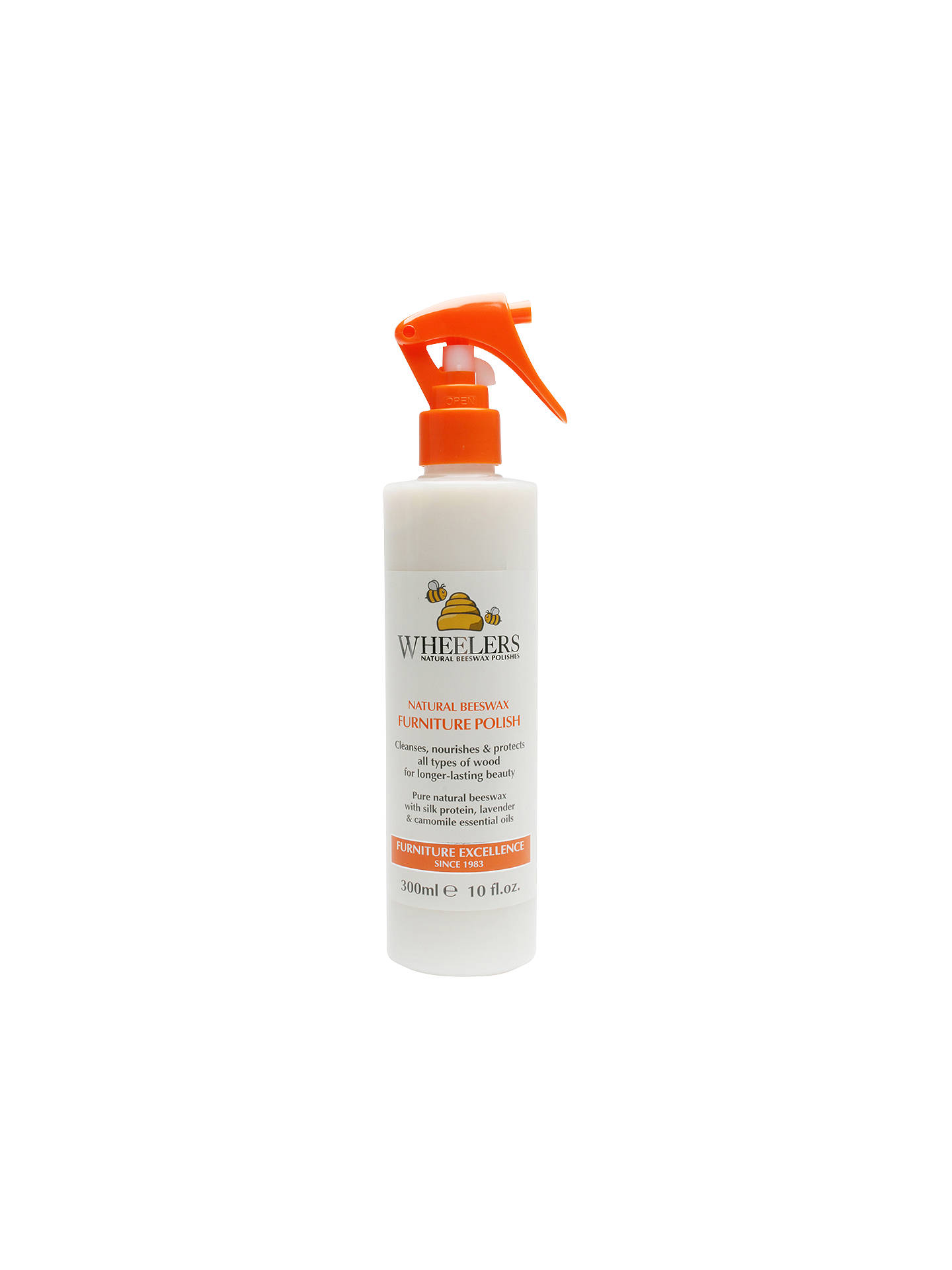 Buy Wheelers Natural Beeswax Furniture Polish Spray, 300ml Online at johnlewis.com ...