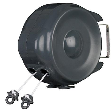 Buy John Lewis 15m Dual Retractable Washing Line Online At Johnlewis.com ...
