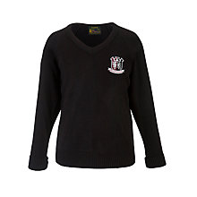 Buy Kings Langley Secondary School Unisex Jumper, Black Online at johnlewis.com