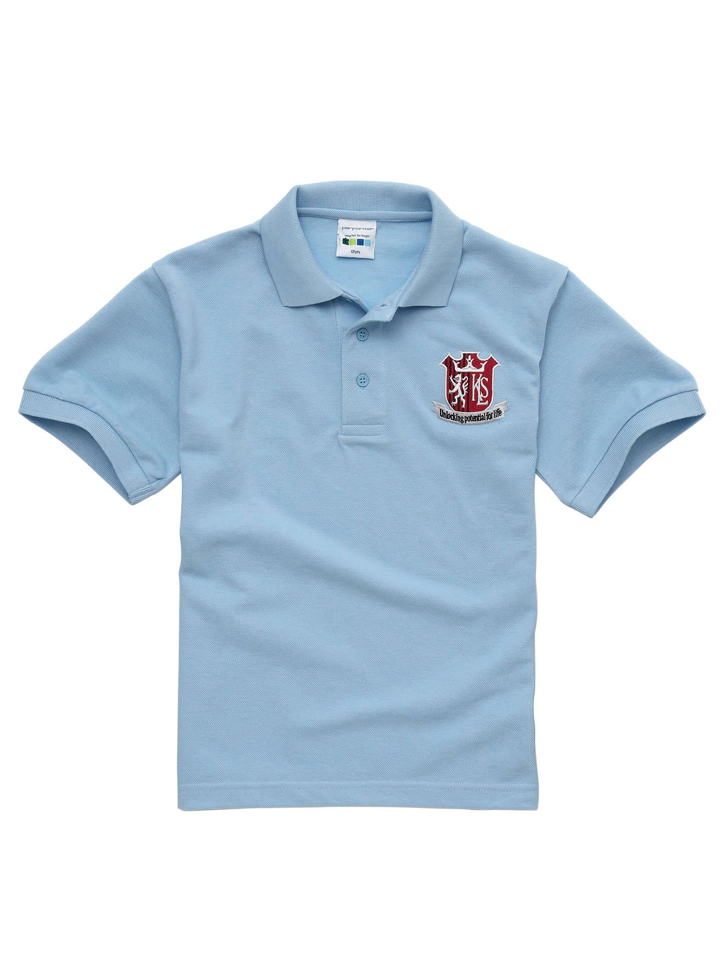 e39c7e839 Kings Langley Secondary School Unisex Sports Polo Shirt at John ...