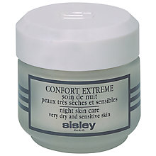 Buy Sisley Confort Extrême Night, 50ml Online at johnlewis.com