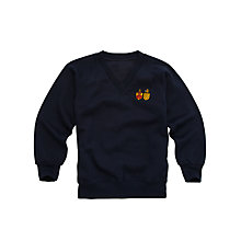 Buy Watford Girls Grammar School Sweatshirt, Navy Online at johnlewis.com