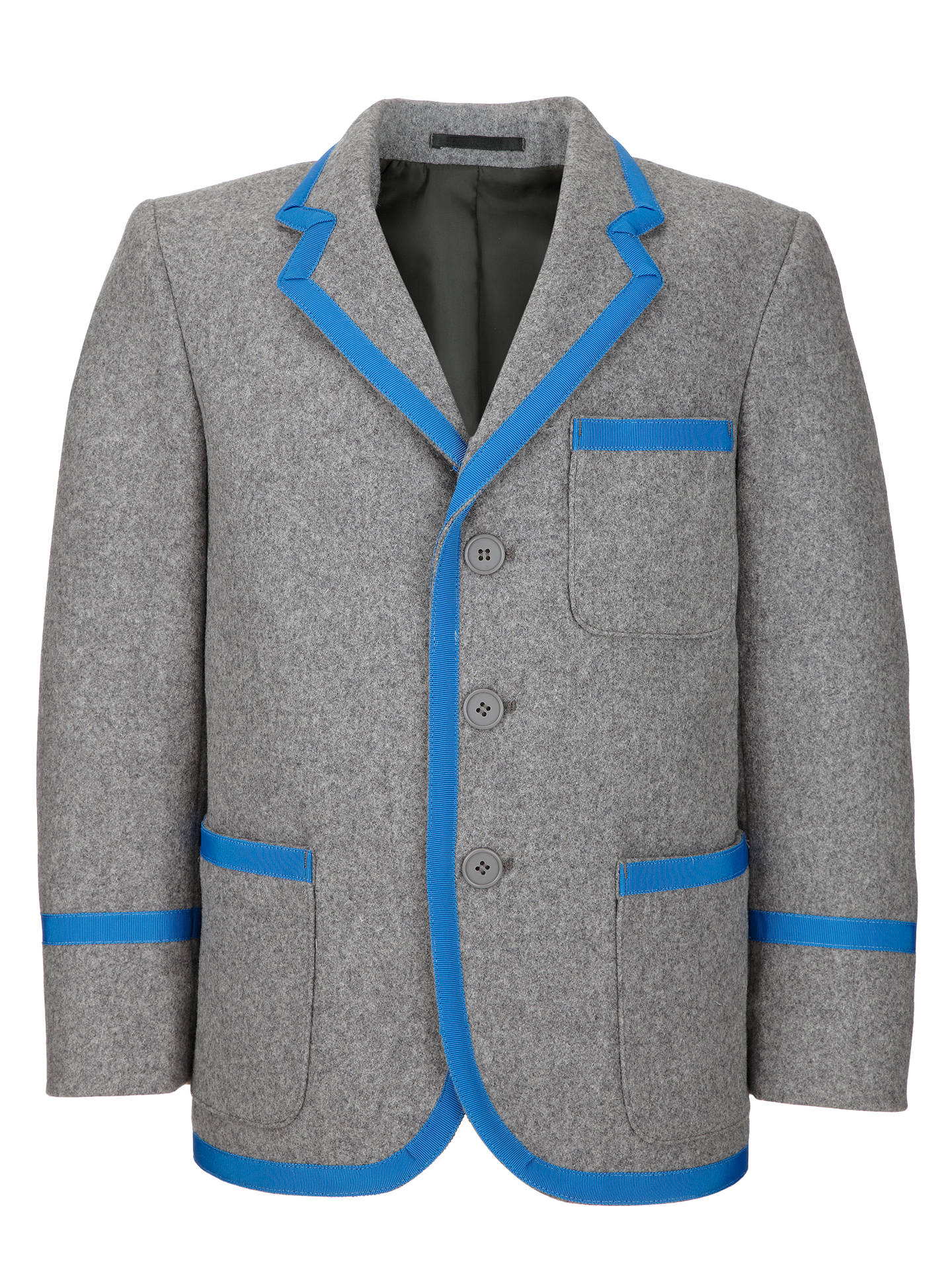 BuyUnisex School Blazer, Grey, Chest 28 Online at johnlewis.com