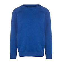 Buy School Unisex Sports Sweatshirt, Royal Blue Online at johnlewis.com
