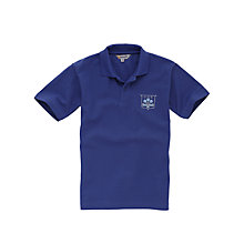 Buy Grittleton House School Boys' Infant and Junior Summer Shirt, Royal Blue Online at johnlewis.com