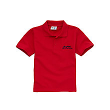 Buy St John's CE VC Primary School Unisex Polo Shirt, Red Online at johnlewis.com