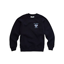 Buy St John's CE VC Primary School Unisex Sweatshirt, Navy Online at johnlewis.com