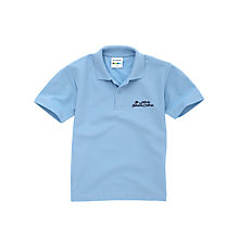 Buy St John's CE VC Primary School Unisex Polo Shirt, Sky Blue Online at johnlewis.com