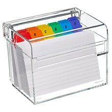 Buy Osco Index Box, Acrylic Online at johnlewis.com