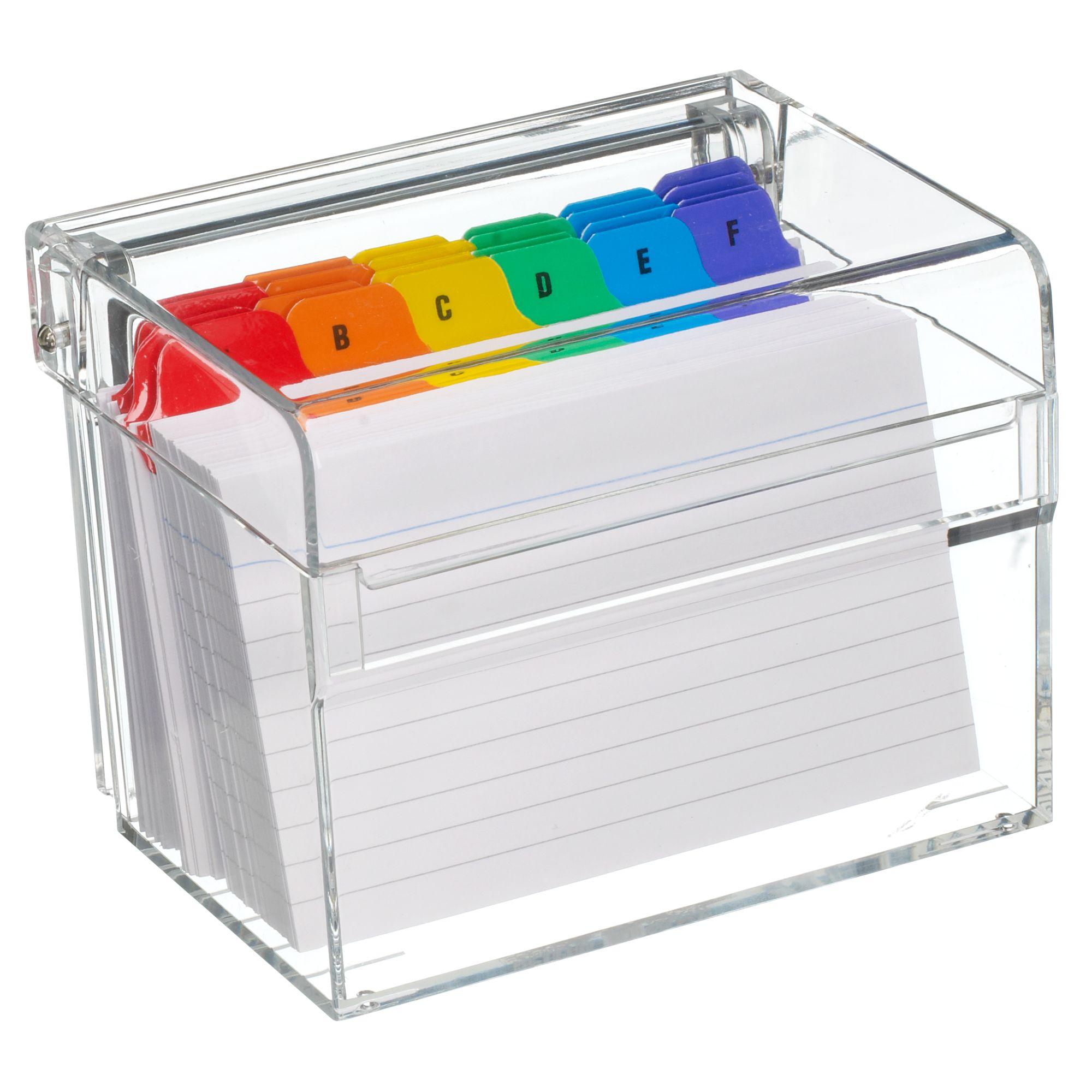 Osco Osco Index Box, Acrylic