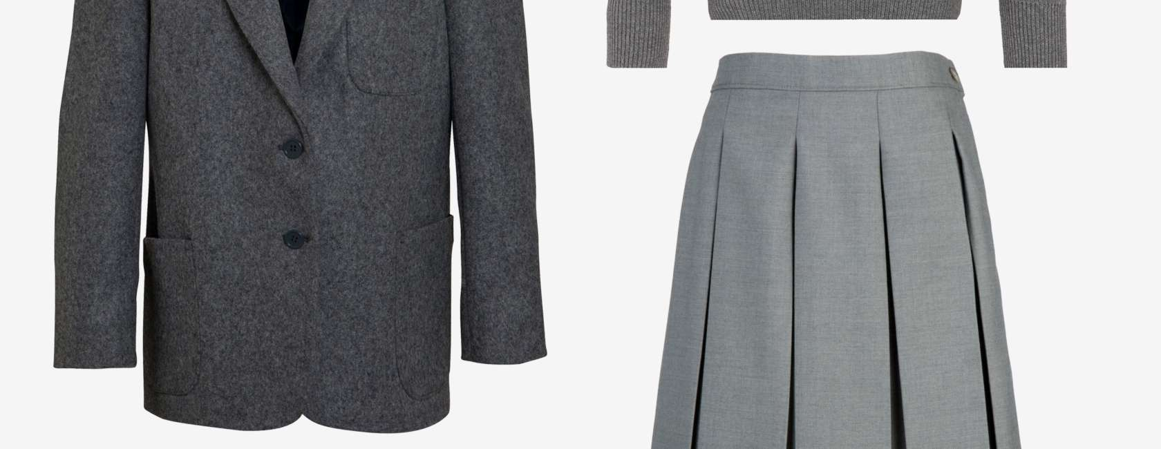 Grey Coat Hospital School Girls Winter Uniform At John