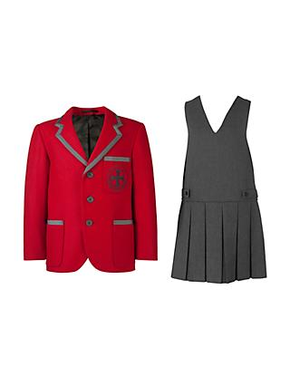 31611b815 Holy Cross RC Primary School Girls  Reception - Year 6 Uniform