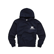 Buy International Community School Unisex Hooded Sweatshirt, Navy Online at johnlewis.com