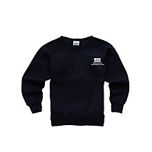 Buy International Community School Unisex Sweatshirt, Navy Online at johnlewis.com