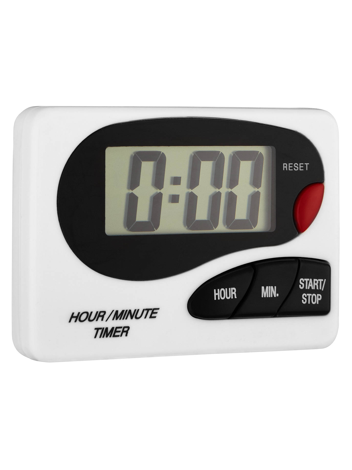 John Lewis Partners Digital Kitchen Timer White At John Lewis Partners