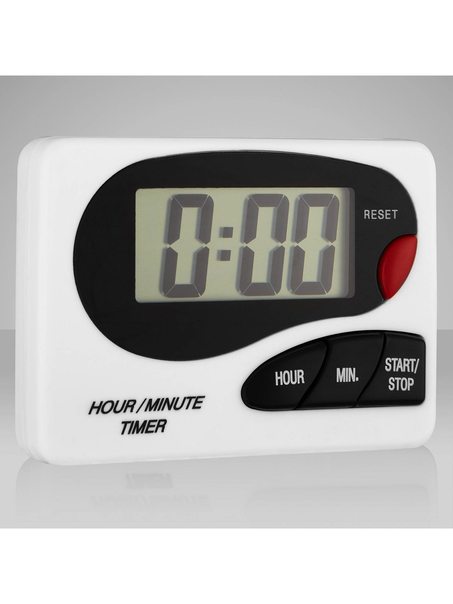 Buy John Lewis & Partners White Digital Kitchen Timer Online at johnlewis.com