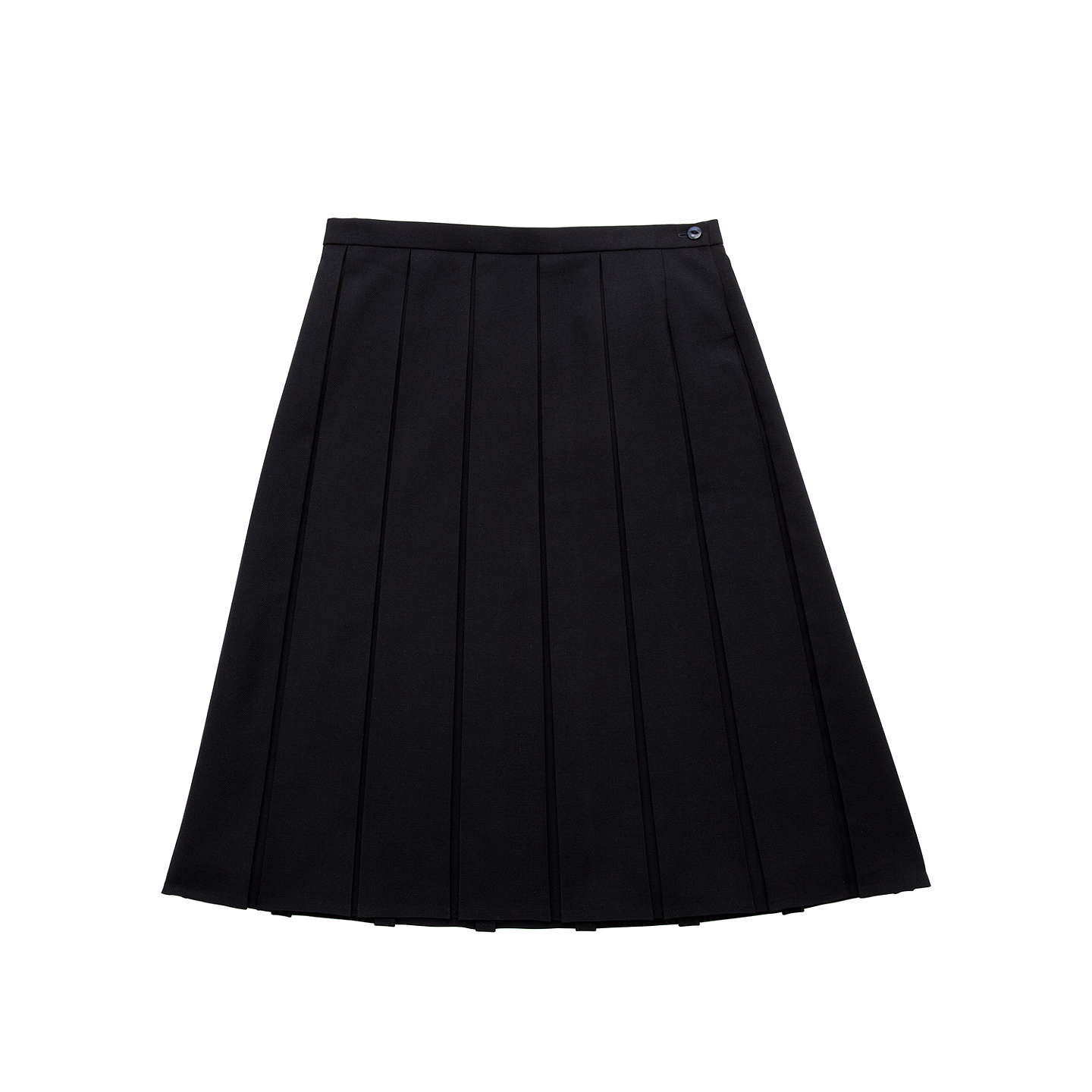 BuyPresdales School Box Pleat Skirt, Navy, W26/L30 Online at johnlewis.com