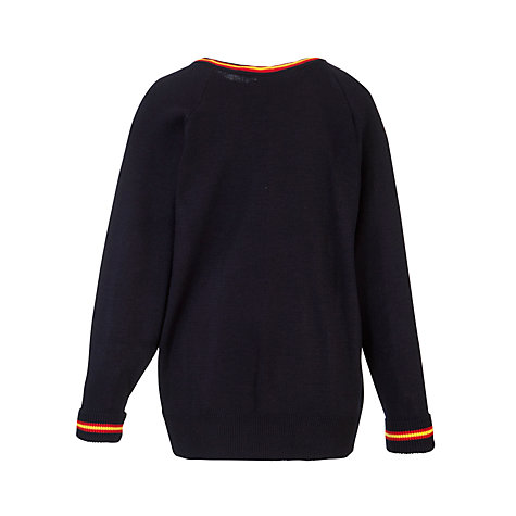 Buy Presdales School Acrylic Pullover, Navy Online at johnlewis.com
