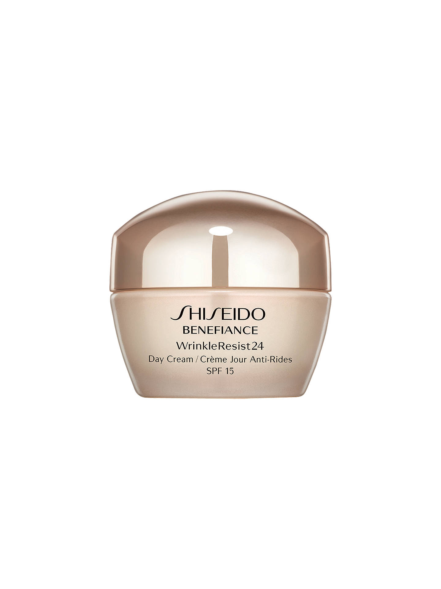 Buy Shiseido Benefiance WrinkleResist24 Day Cream, 50ml Online at johnlewis.com