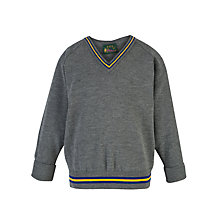Buy Finchley Catholic High School Boys' Pullover, Grey Online at johnlewis.com