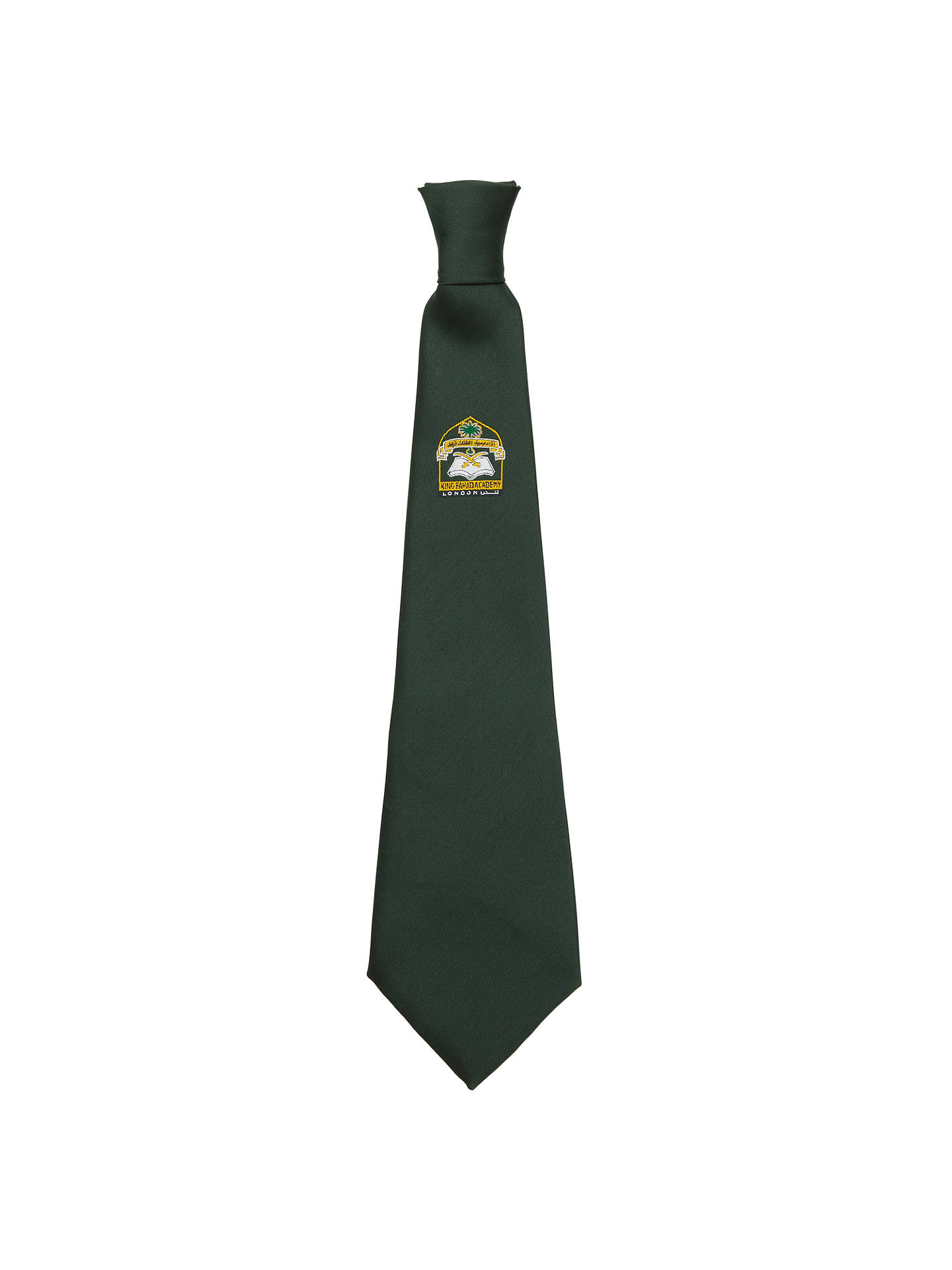 Buy King Fahad Academy Unisex Elastic Tie, Bottle green, One Size Online at johnlewis.com