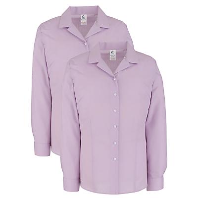 Product photo of School girls junior senior general blouse pack of 2