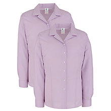 Buy School Girls' Junior/Senior General Blouse, Pack of 2 Online at johnlewis.com