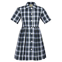 Buy Girl's School Summer Dress, Tartan Online at johnlewis.com
