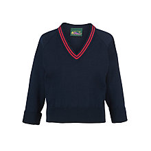 Buy St Mary's RC Primary School Clapham Unisex Wool Mix Pullover, Navy Online at johnlewis.com